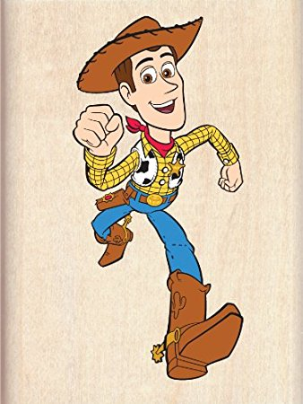 338x450 Disney Wood Mounted Rubber Stamp Toy Story Woody