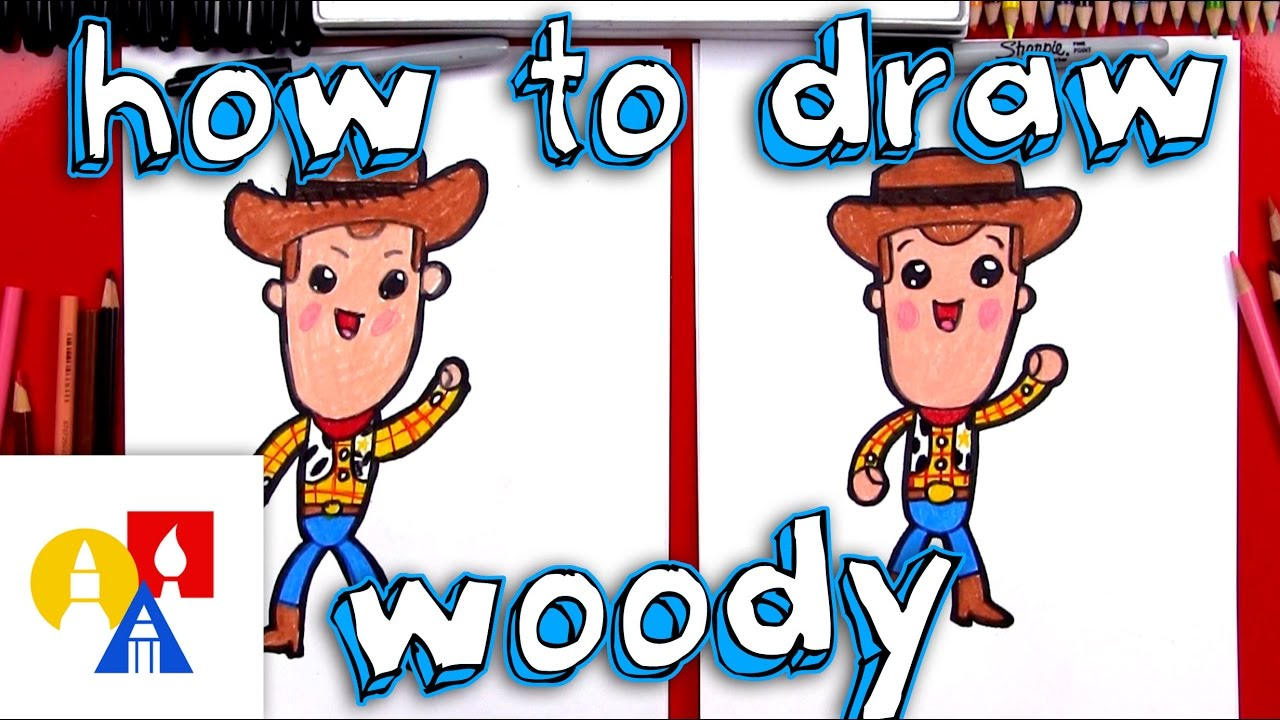1280x720 How To Draw Cartoon Woody From Toy Story