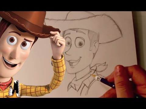 480x360 How To Draw Woody From Pixar's Toy Story