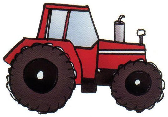 537x374 How To Draw A Terrific Tractor Art For Children