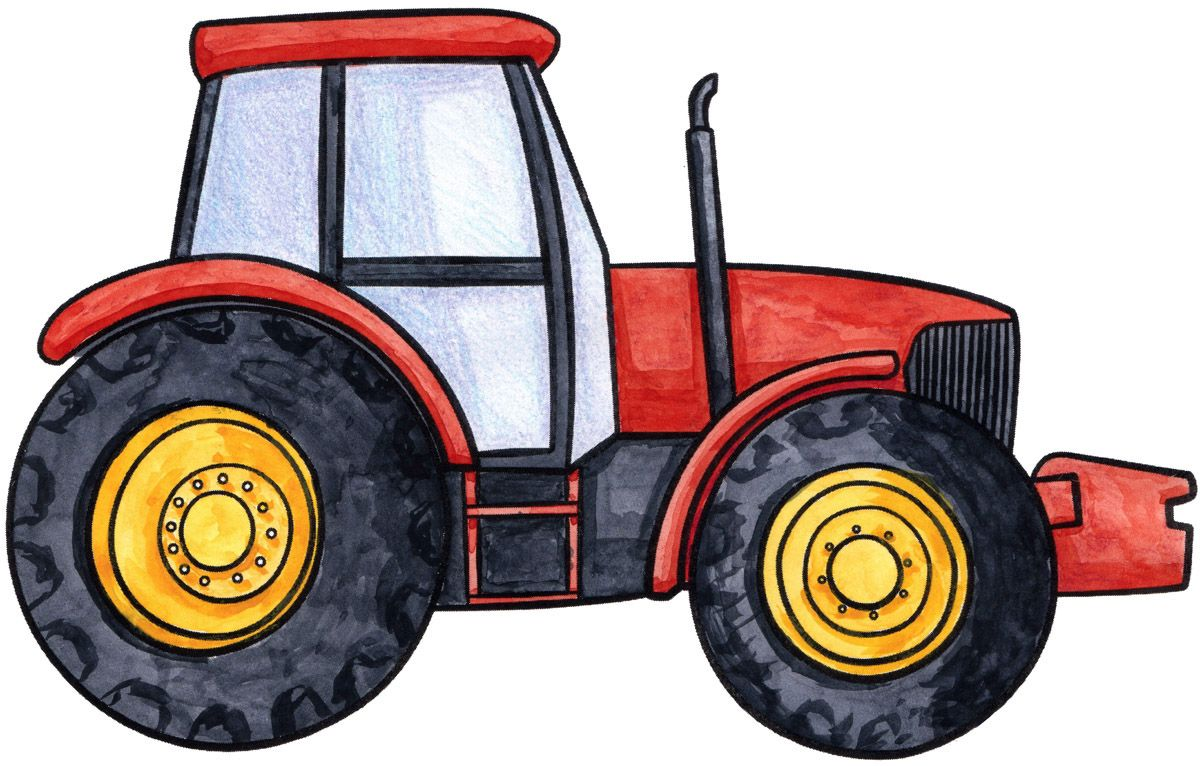 Tractors Drawing At Getdrawings Free For Personal Use Tractors