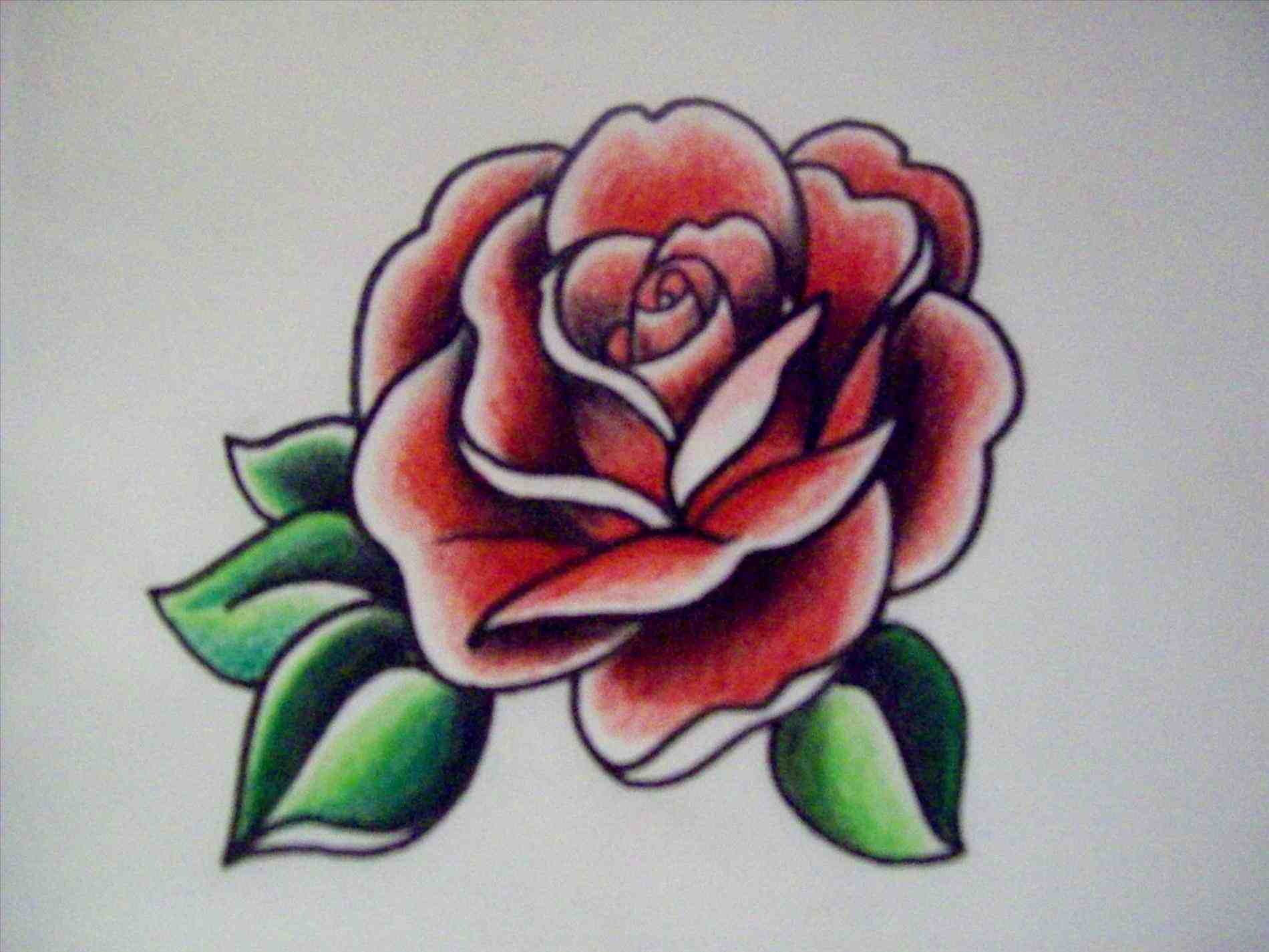 1900x1425 Traditional Rose Drawing American Traditional Rose Drawing