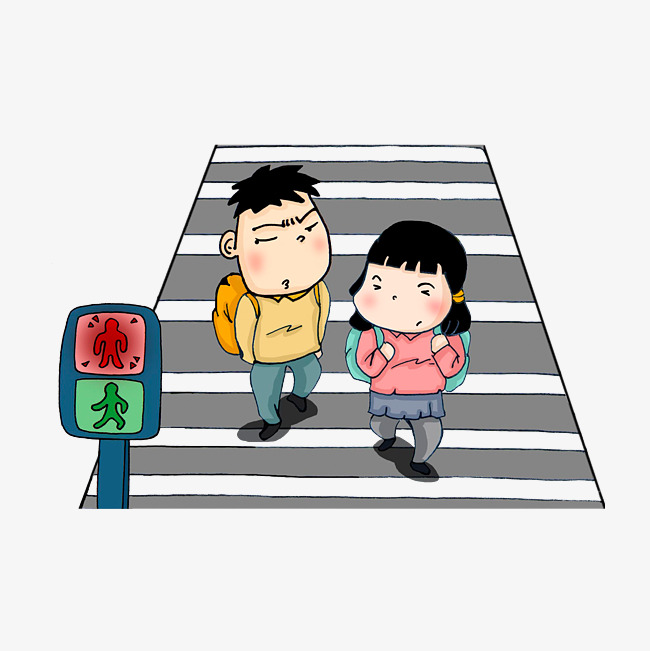 650x651 Children Who Do Not Obey The Traffic Signal, Reminder Light