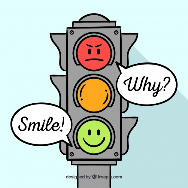 626x626 Hand Drawn Traffic Light Background Vector Free Download