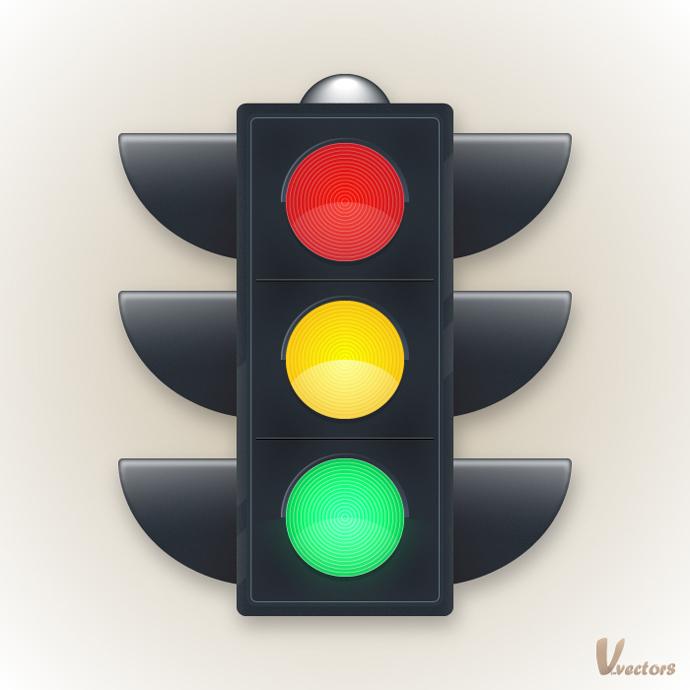 690x690 Illustrator Drawing Create A Traffic Light Illustration Tutorial