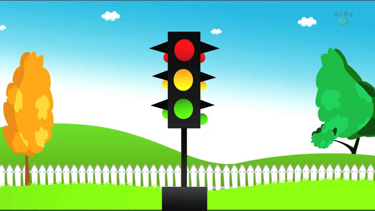 1280x720 Learn Shapes With The Help Of Traffic Signal