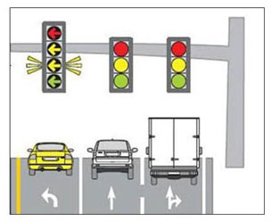 304x248 Left Turn Yellow Signal To Be Installed On Traffic
