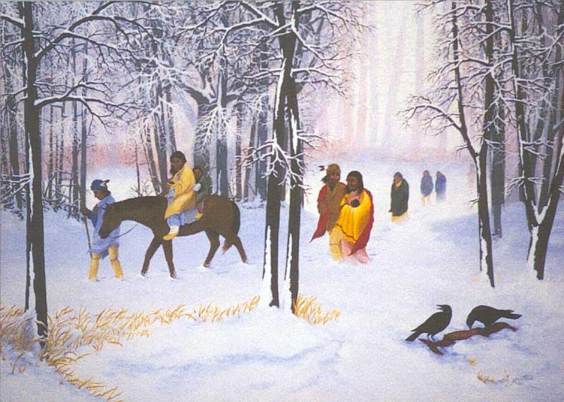 800x571 Cherokee Trail Of Tears Tribute Rifle America Remembers