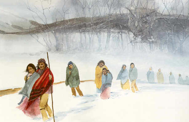 610x394 The Trail Of Tears Remembered