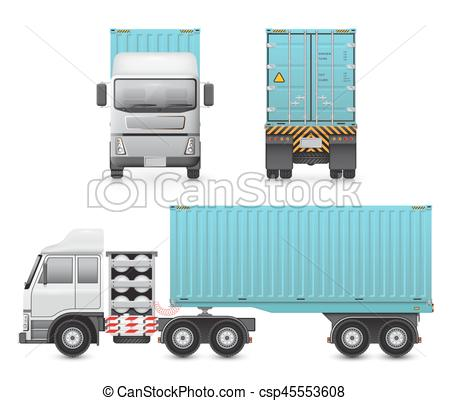 Trailer Truck Drawing at GetDrawings.com | Free for personal use ...