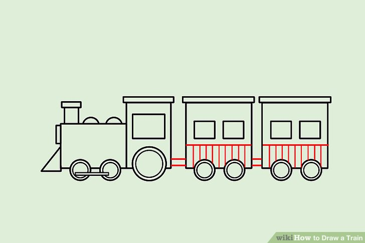 728x485 4 Ways To Draw A Train