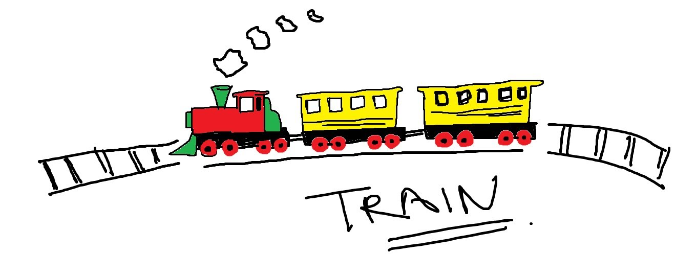 1359x540 Easy Kids Drawing Lessons How To Draw A Cartoon Train