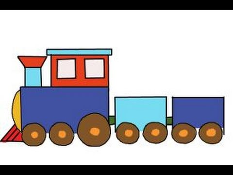 480x360 How To Draw A Simple Train