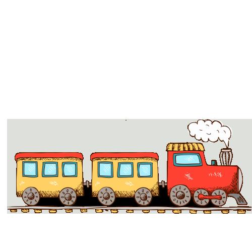 500x500 Train Transport Drawing Child Clip Art