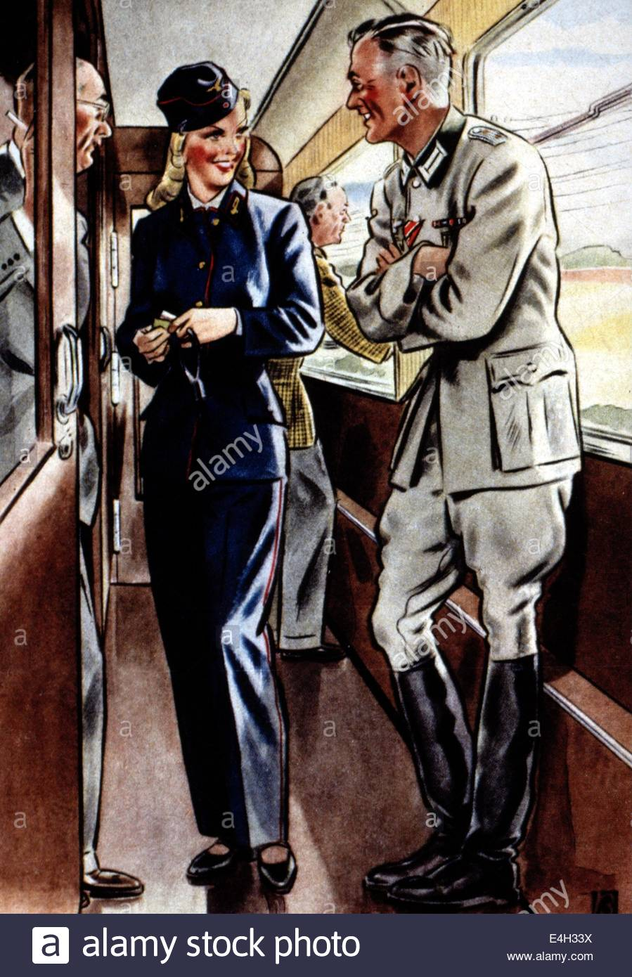 899x1390 Events Second World War Wwii Germany The Train Conductor