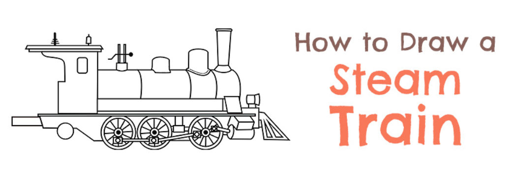1049x367 How To Draw A Steam Train