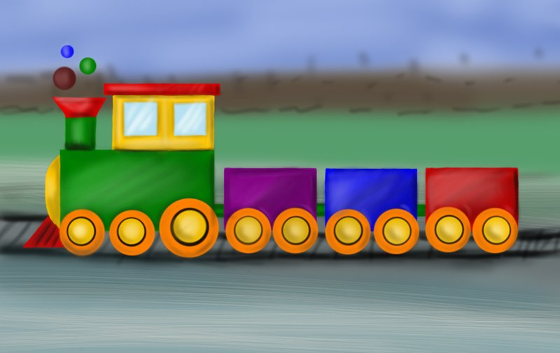 800x505 Learn How To Draw A Train For Kids (Trains) Step By Step Drawing