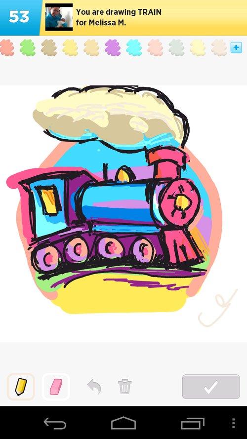 500x889 Train Drawings