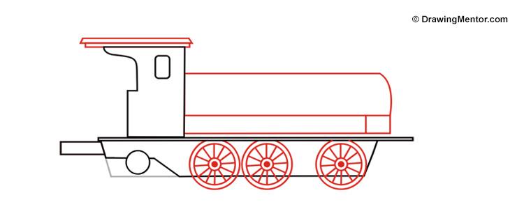 750x300 To Draw A Steam Train