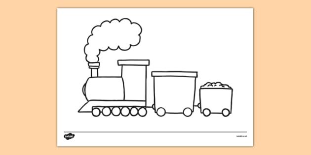 630x315 Train Template Basic Train Drawing Templates Basic Train Drawing