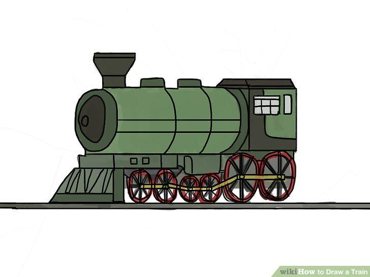728x546 4 Ways To Draw A Train