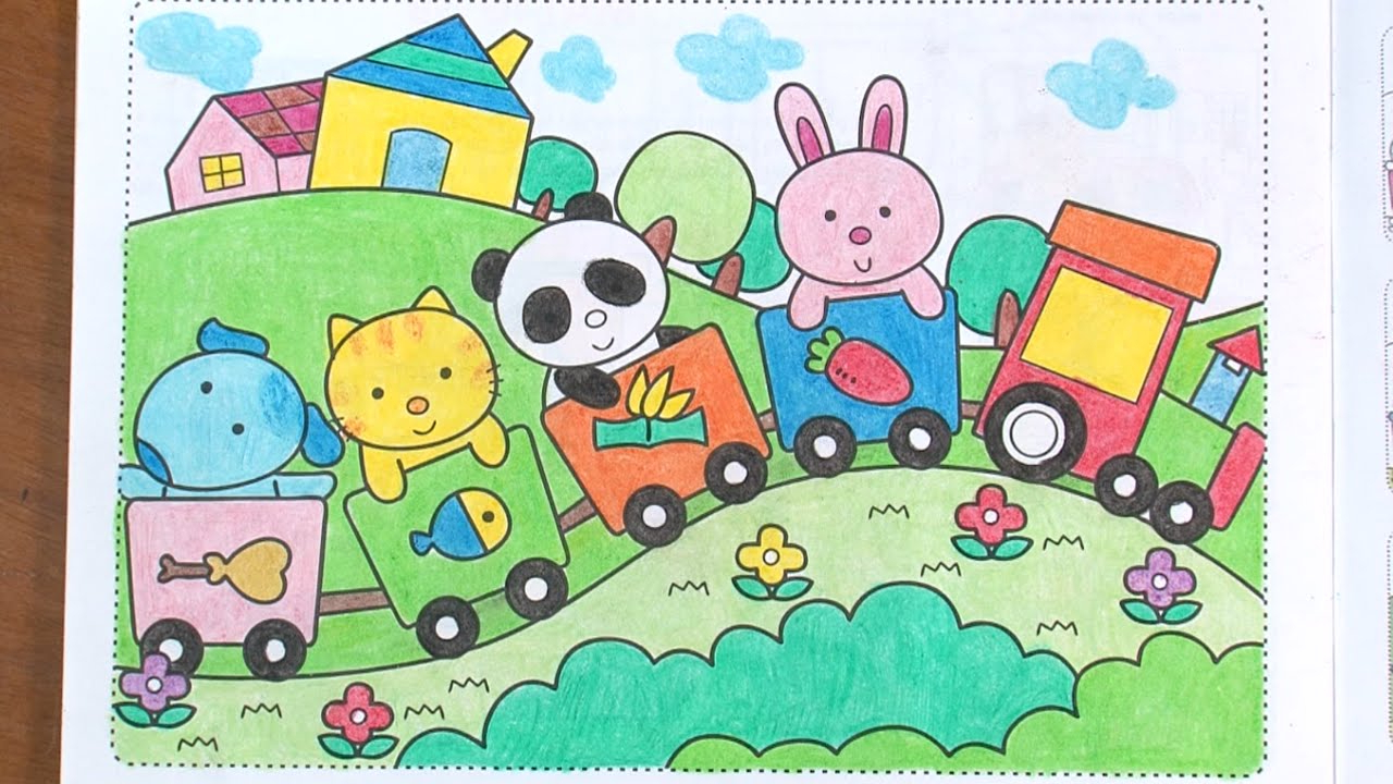 1280x720 Beautiful Animals Drawing For Kids Kid Learn To Draw Animals