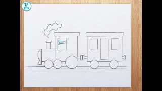 320x180 How To Draw A Train