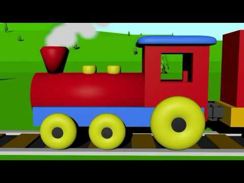 480x360 Learn Colors With The Color Train For Kids!