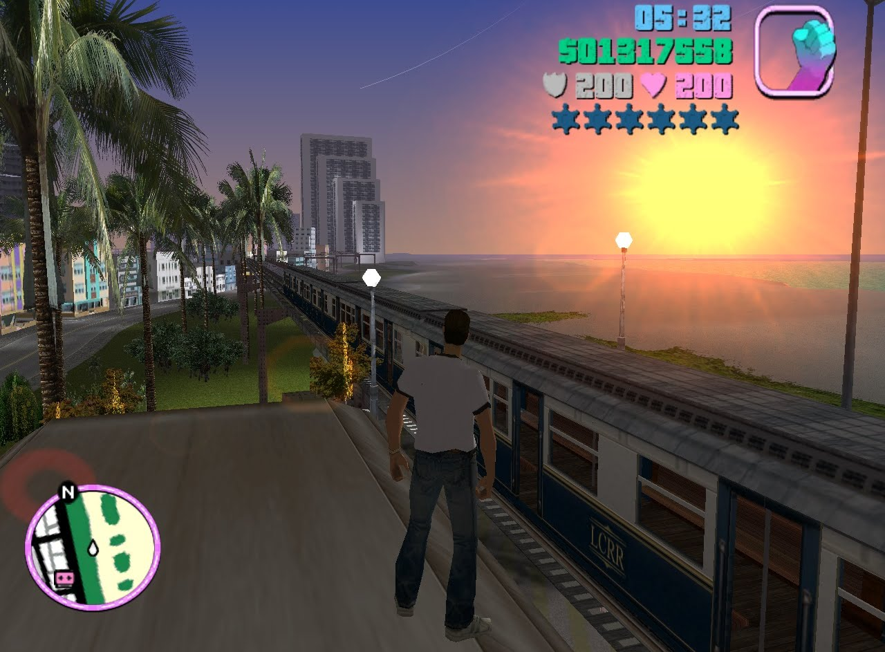 1280x943 Gta Vice City How To Get A Train Cheat (Parody)