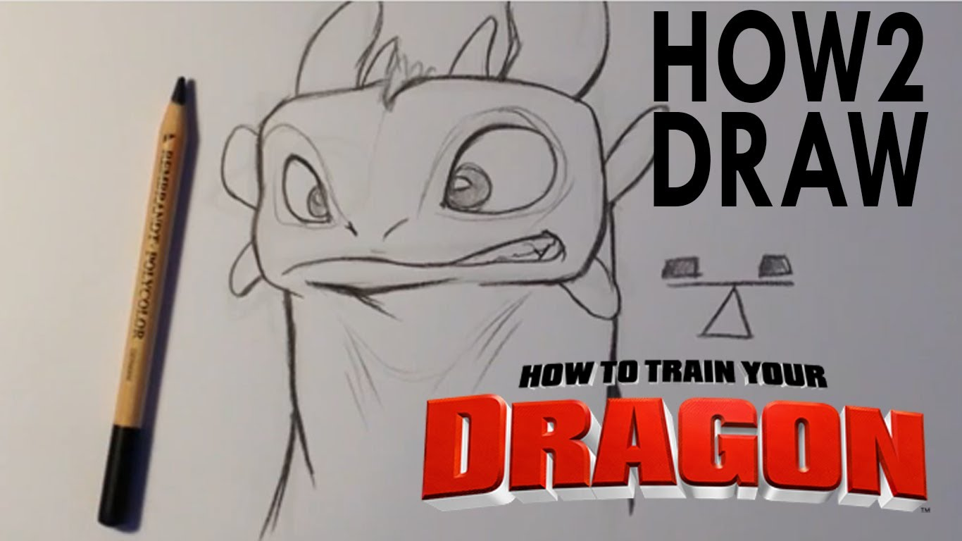 1366x768 How To Draw Toothless From How To Train Your Dragon