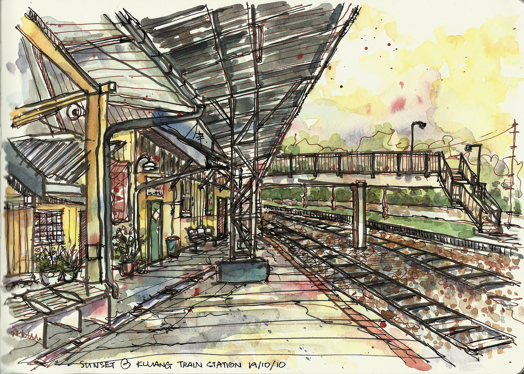 1024x731 Firefly Workshop By Paul Wang Kluang Train Station, Malaysia