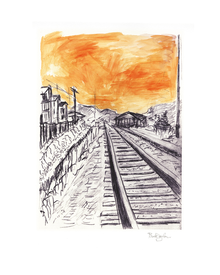 720x900 Train Tracks The Bob Dylan Collection