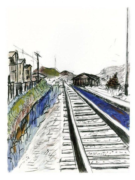 449x600 Buy Bob Dylan Train Tracks