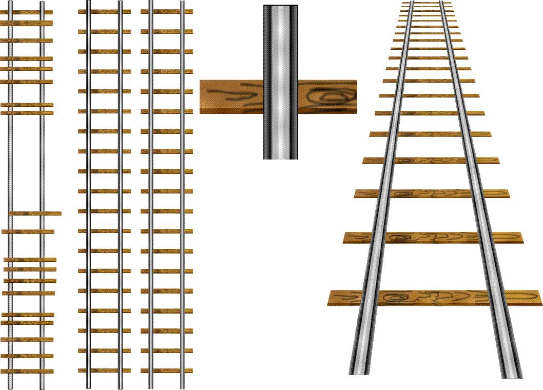 1058x760 Drawing Of Train Tracks Drawing A Railway Line