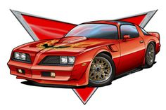 236x157 1978 Pontiac Firebird Trans Am Drawing By Vertualissimo Pontiac