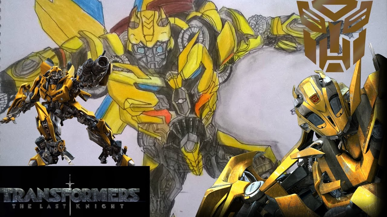 how to draw bumblebee the transformer