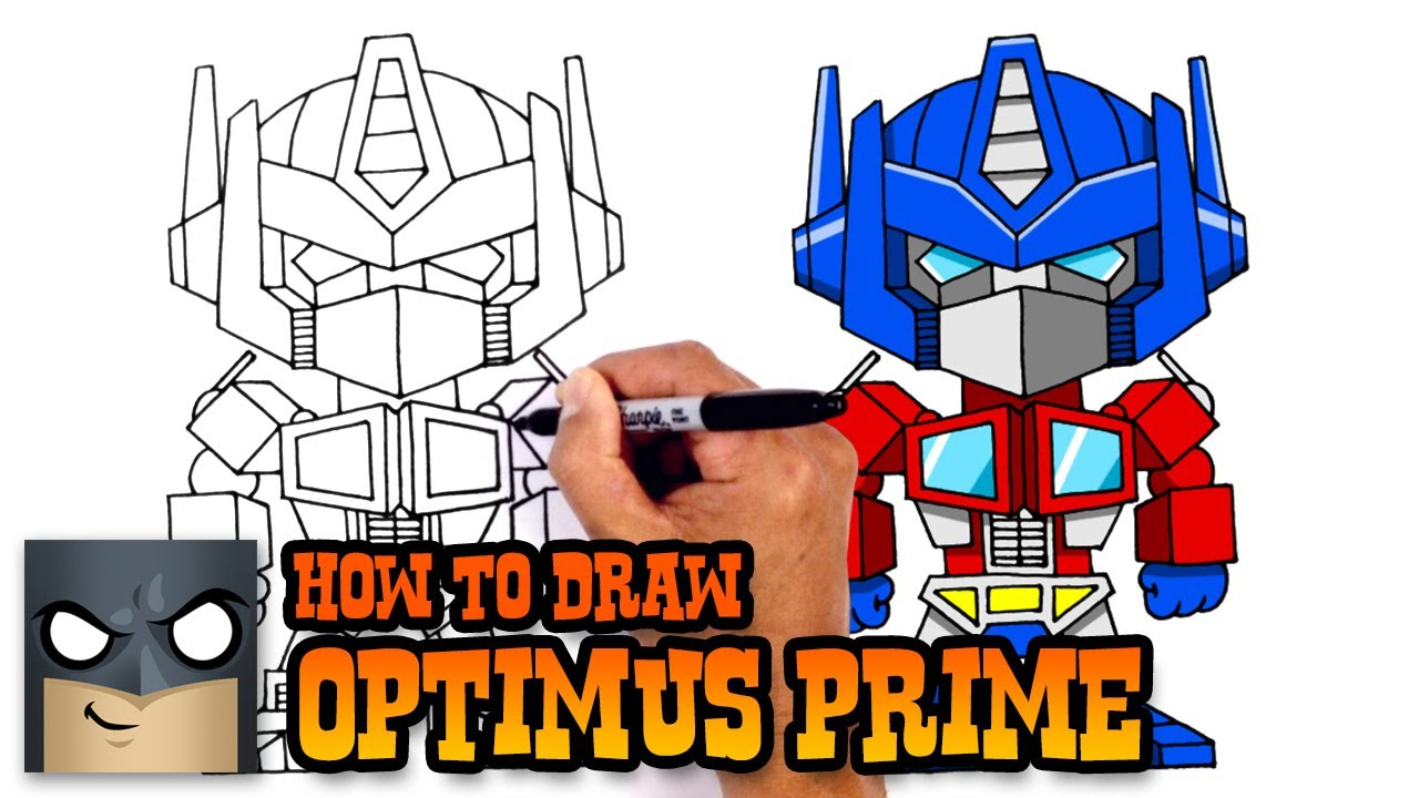 1280x720 How To Draw Optimus Prime Transformers