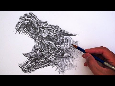 480x360 How To Draw Transformers Grimlock