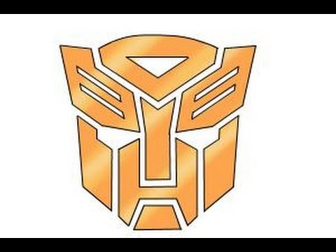 480x360 How To Draw Autobot Logo From Transformers