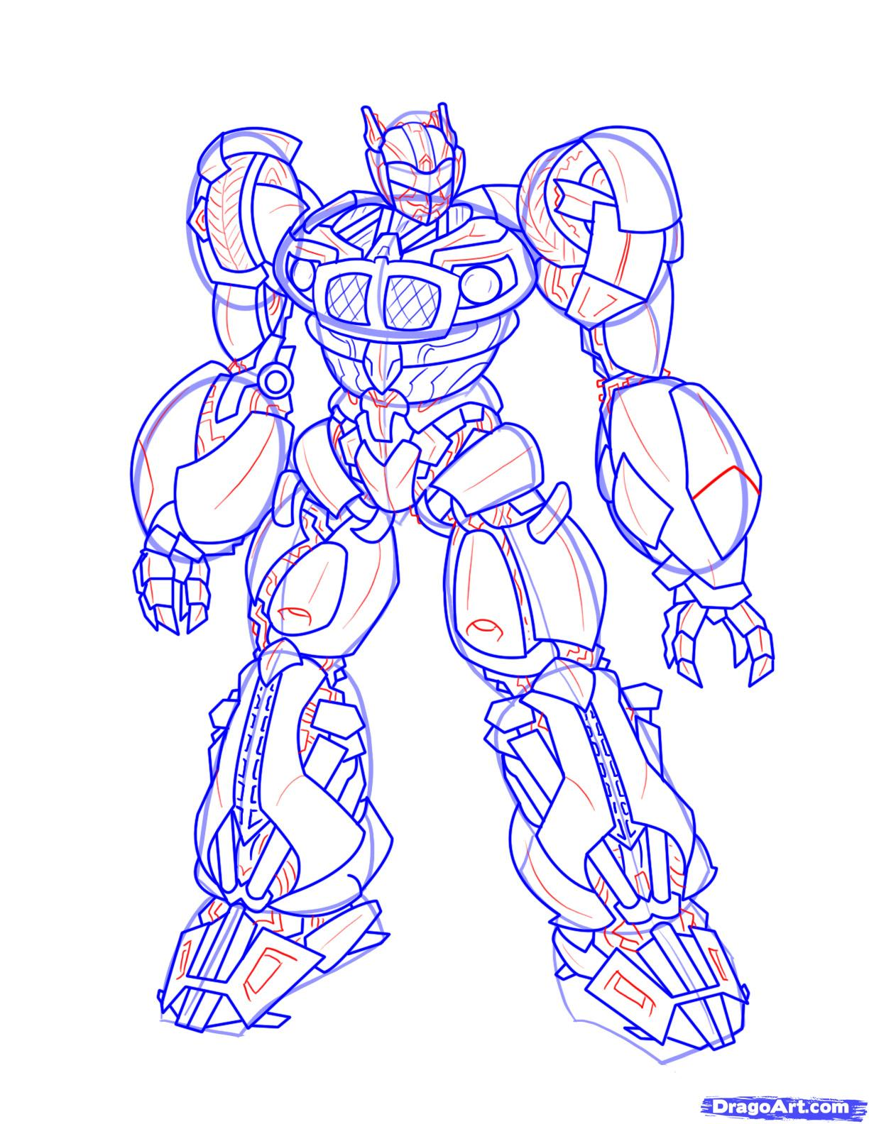 1224x1584 How To Draw Transformers Art