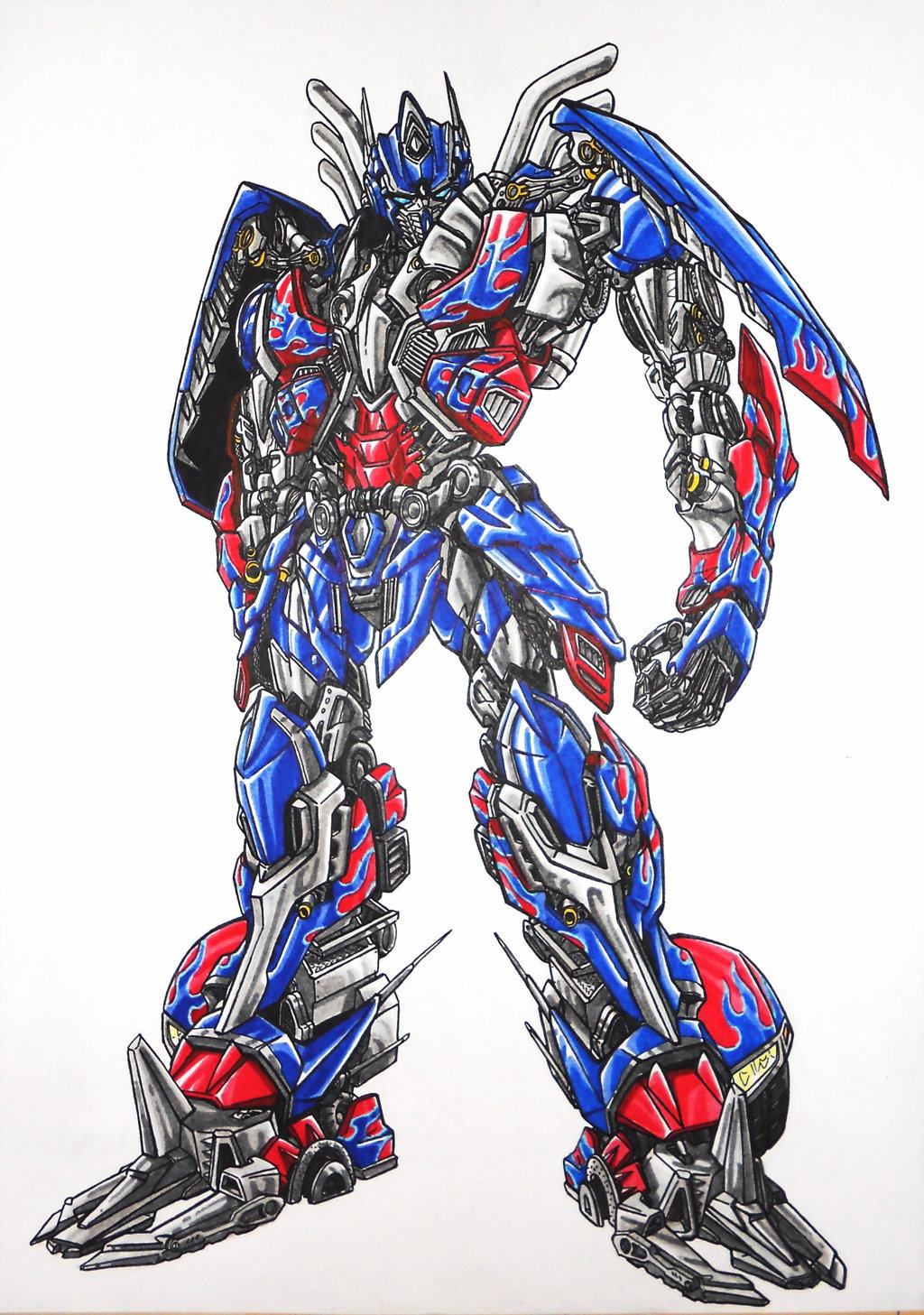 1024x1457 Age Of Extinction Optimus Prime By