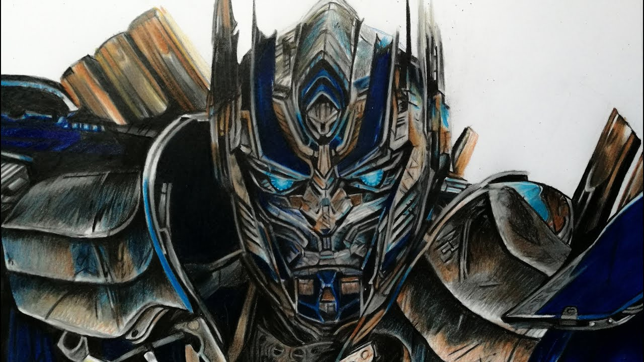 1280x720 Drawing Optimus Prime Transformers 5