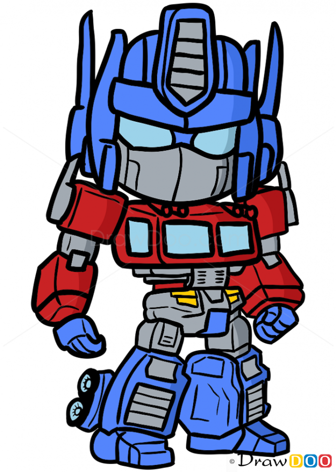 665x933 How To Draw Optimus Prime, Chibi Transformers Bday
