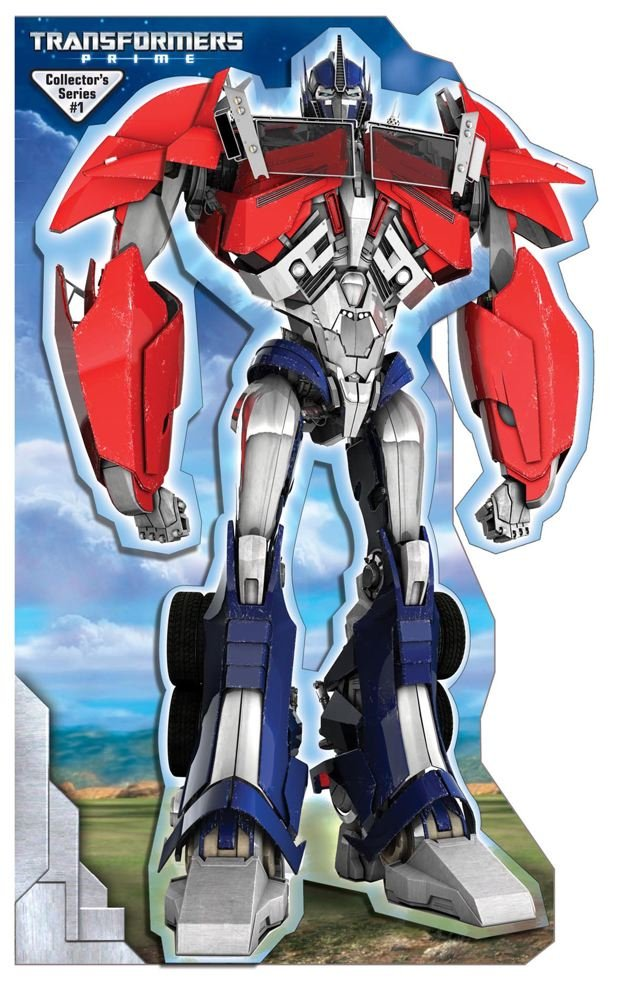 643x1000 Transformers Prime Optimus Prime Stand Up Mover Stand Up Mover