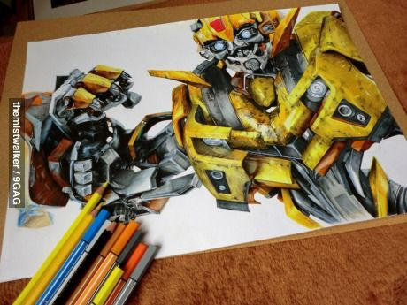 460x345 Incredible Bumble Bee Drawing. Bumble Bees, Bees And Bee Drawing