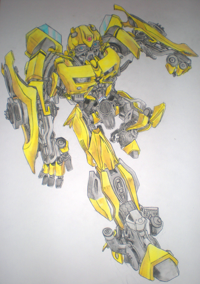665x944 Transformers Bumblebee By Pirriphow To Draw Bumblebee