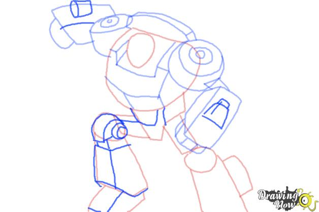 628x418 How To Draw Chase From Transformers Rescue Bots