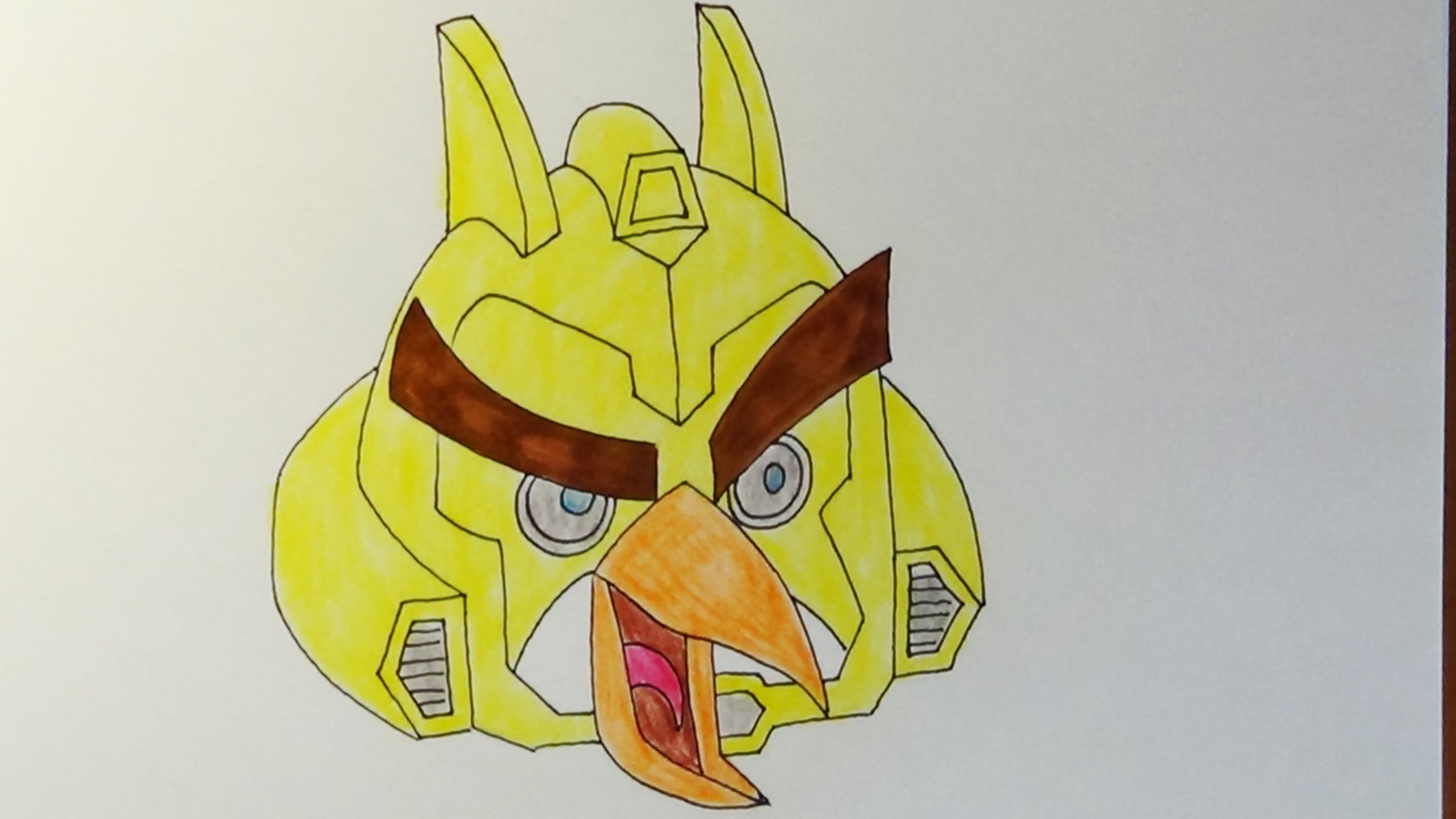 3000x1687 How To Draw Angry Birds Transformers