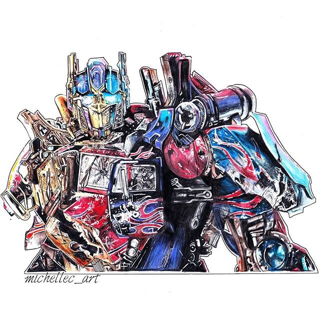 640x640 Optimus Prime From Transformers