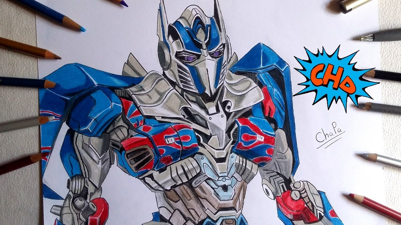 Transformers Dark The Moon Coloring Pages Optimus Prime